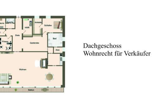 Dachgeschoss - Wohnrecht für Verkäufer
