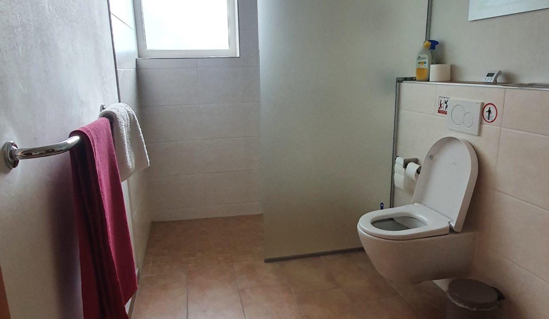Gästebereich WC und Dusche