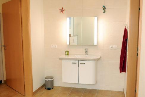 Gästebereich Waschbecken